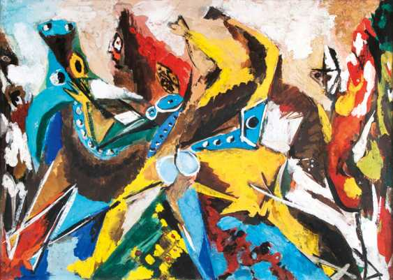 Tauromachia (bull-tamer) by Ernst Wilhelm Nay