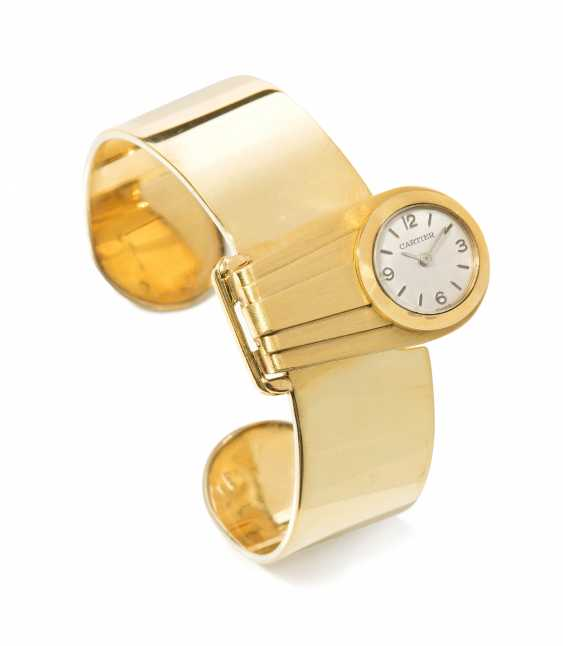 Cartier bracelet with watch clip - photo 1