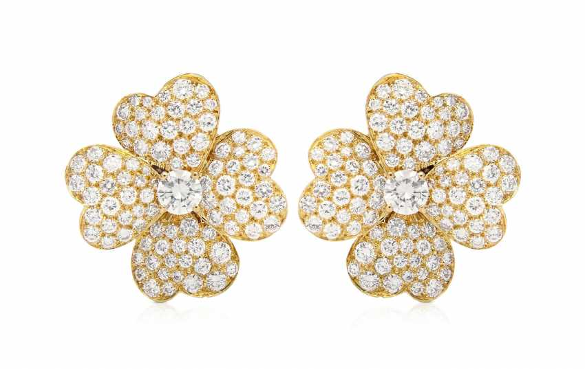 Van Cleef & Arpels Brillant-Ohrclips - photo 1