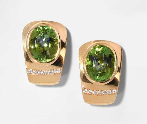 Peridot-Brillant-Ohrclips - photo 1