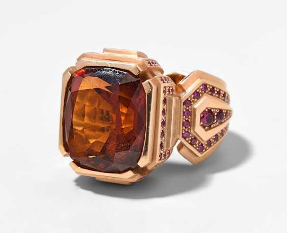 Citrine-Jewels-Ring - photo 1