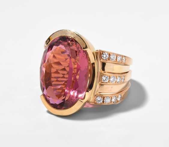 Turmalin-Brillant-Ring - photo 1
