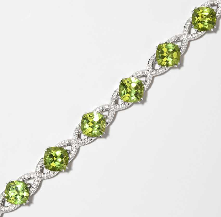 Peridot-Brillant-Bracelet - photo 1