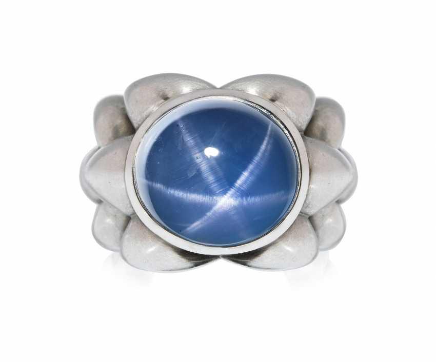 Sternsaphir-Ring - photo 1