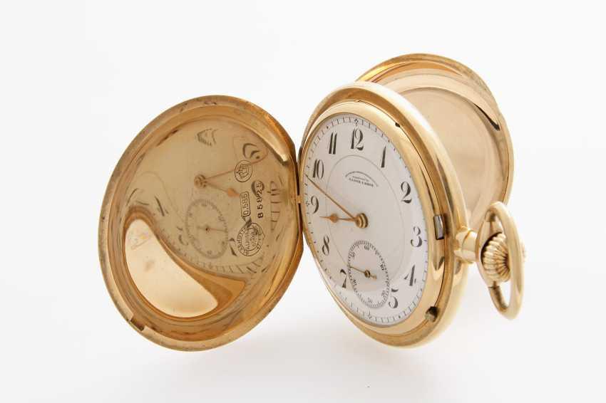 DUF (German watch manufacturing) LANGE & SÖHNE pocket watch, Savonette,