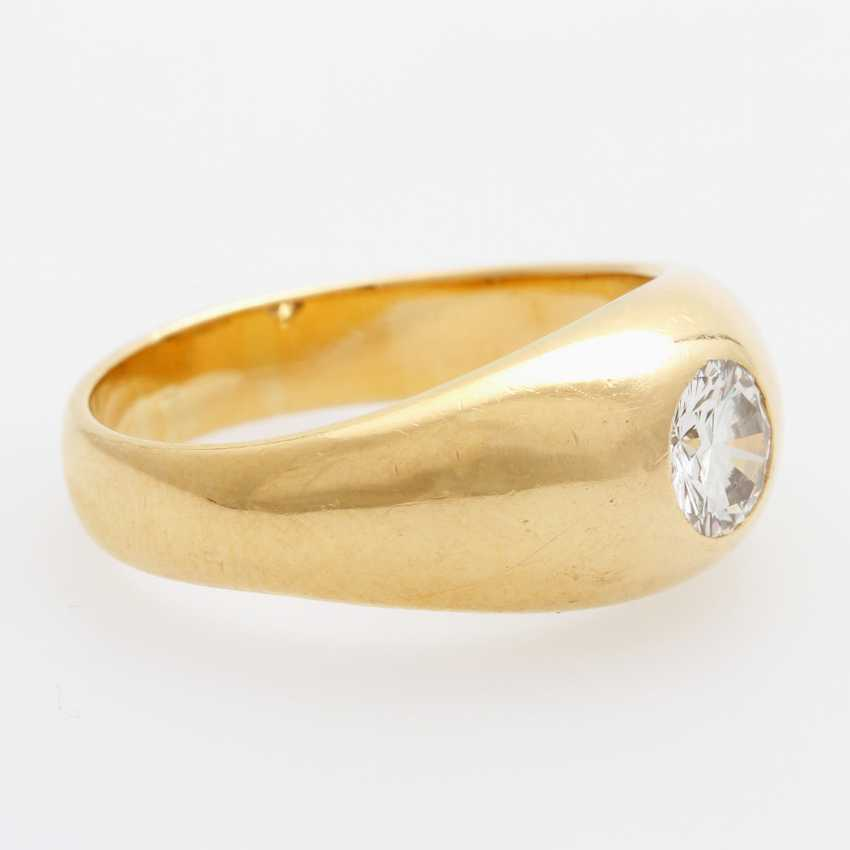 SCHILLING band ring / solitaire ring - photo 2