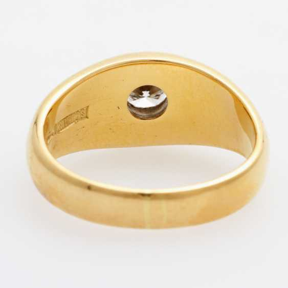 SCHILLING band ring / solitaire ring - photo 3