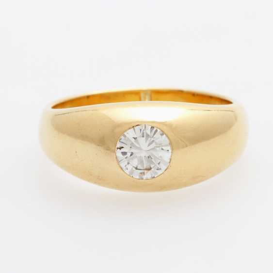 SCHILLING band ring / solitaire ring - photo 1