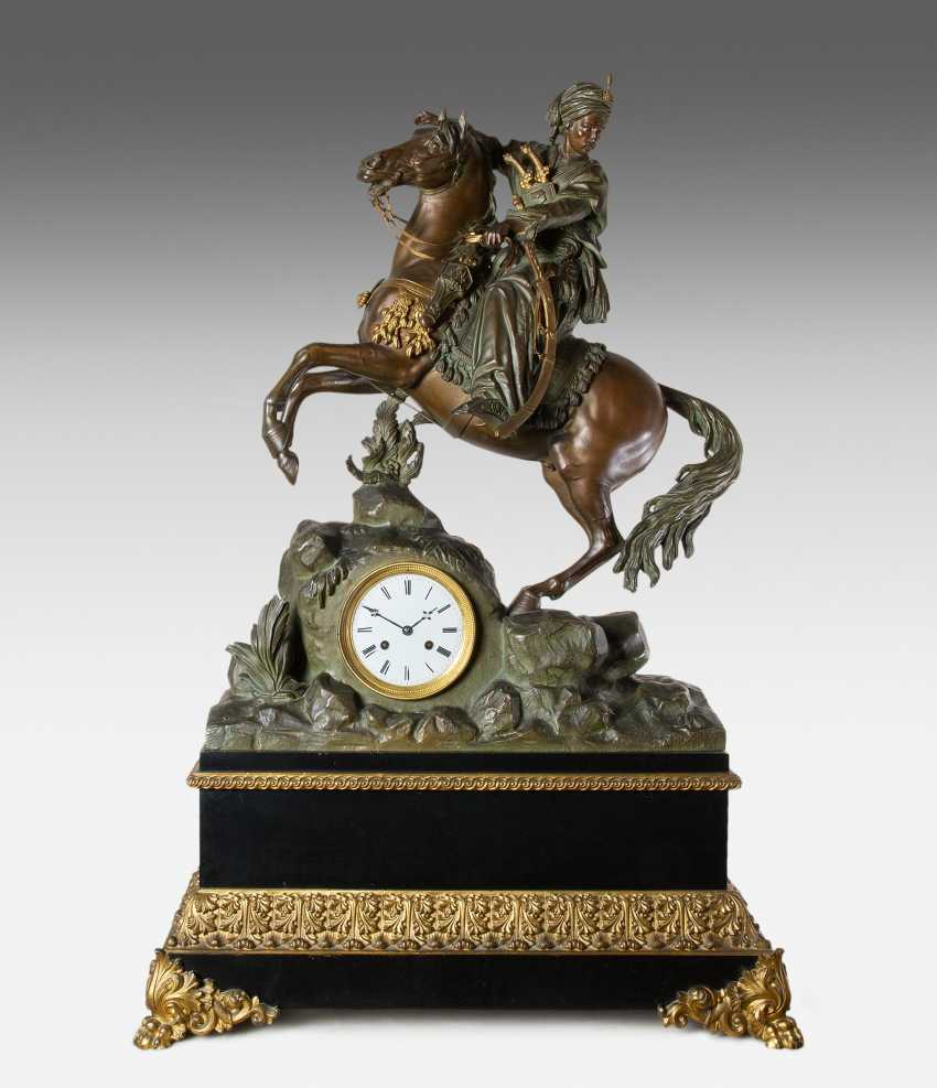 Large Mantel Clock - photo 1