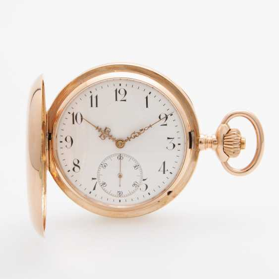 IWC pocket watch, Savonette, the end of the 19th century.Century.