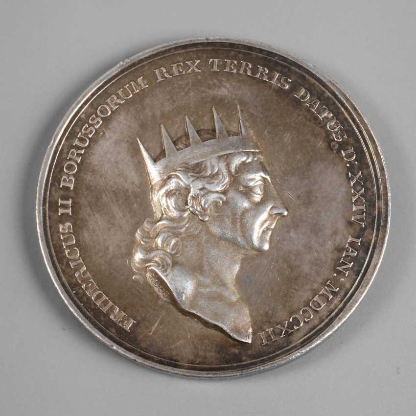 Fridericus боруссия монета серебро