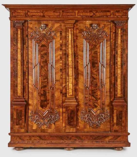 An early Baroque Cabinet, South German. around 1700
