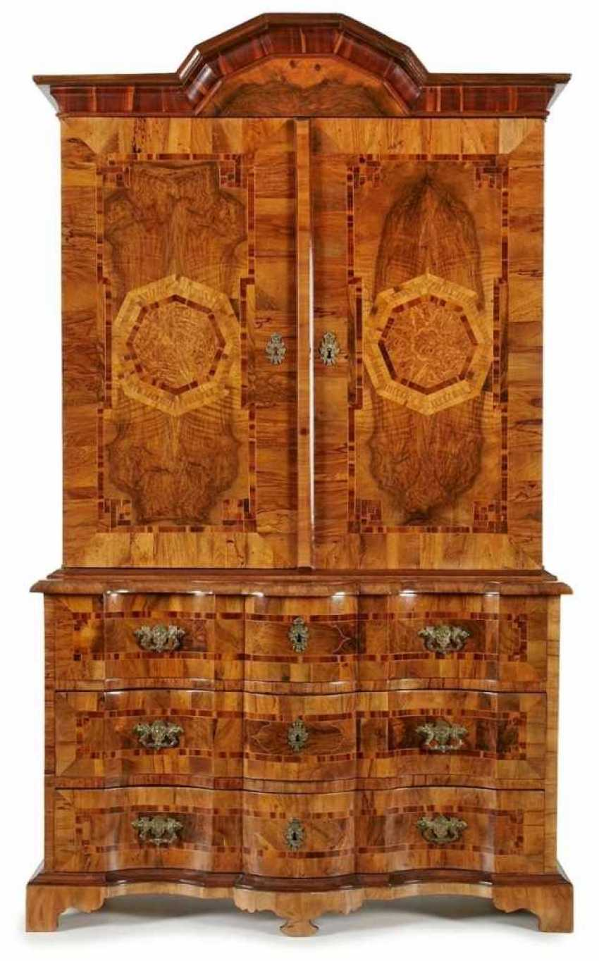 Baroque-essay-in closet, Saxony, around 1730