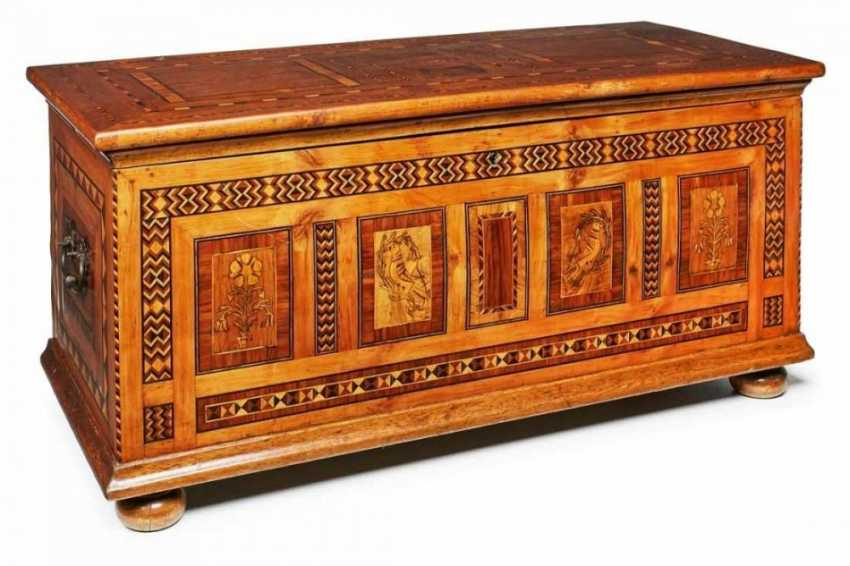 Biedermeier-Fink chest, Marburg, Germany around 1820