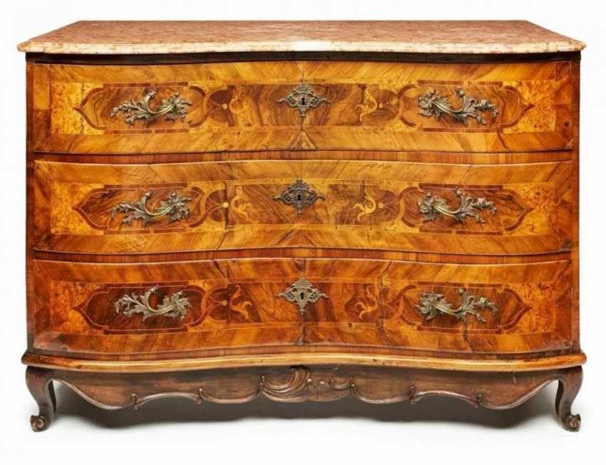 Baroque commode South German. around 1750 - photo 1