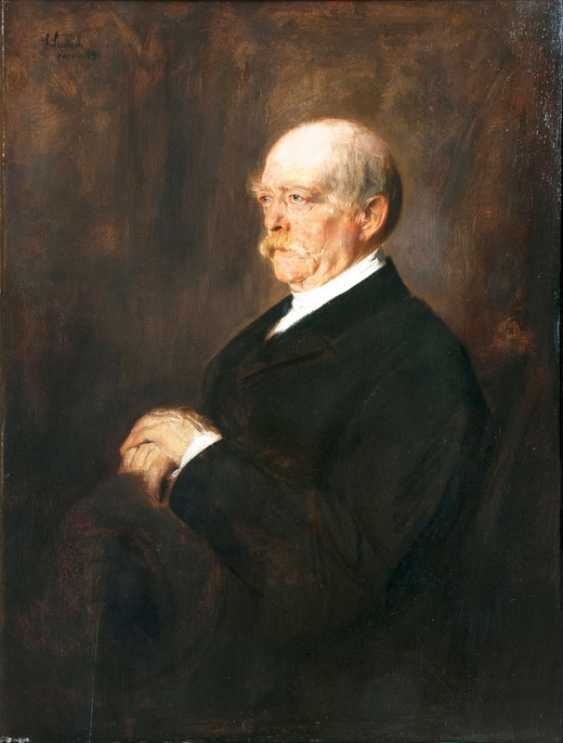 Prince Bismarck. Franz von Lenbach - photo 1