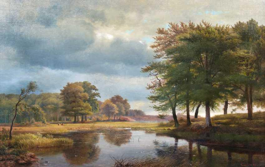 North German Landscape. Louis Gurlitt - photo 1