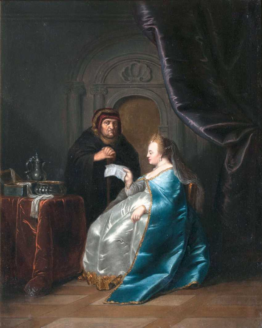 Catherine the Great is reading a letter. German Champion - photo 1