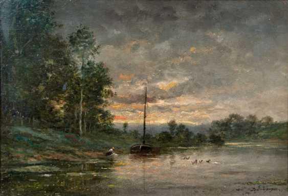 Abend am Fluß. Charles-François Daubigny - photo 1