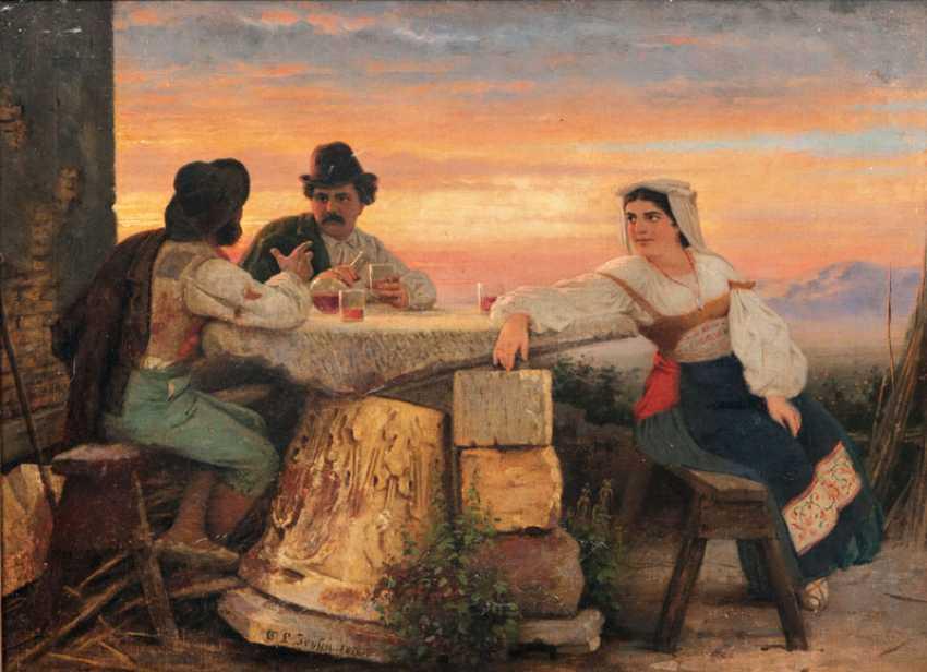Italians in the wine. Carl Ludwig Jessen - photo 1