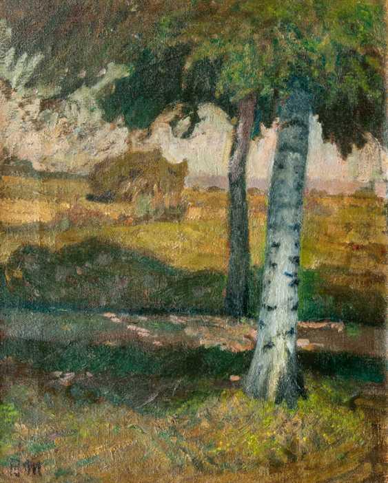 Birch Allee. Fritz Mackensen - photo 1