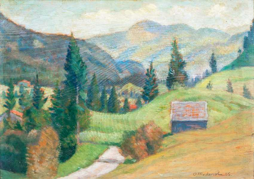 Landscape in Prien. Otto Modersohn - photo 1