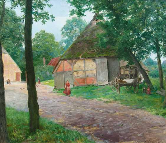 Im Dorf. Eduard Steinbach - Foto 1