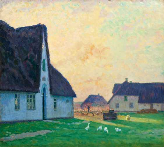Evening on the island of Sylt. Ernst Eitner - photo 1