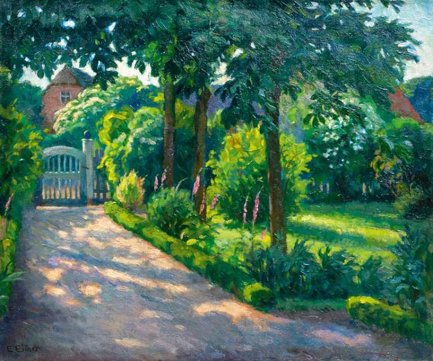 The garden of the artist. Ernst Eitner - photo 1
