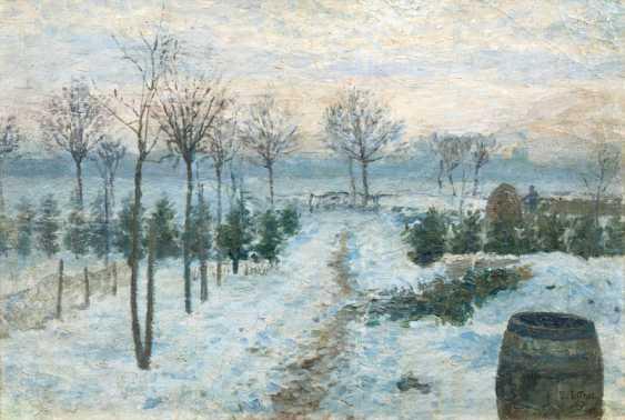 Winter in Uhlenhorst. Ernst Eitner - photo 1