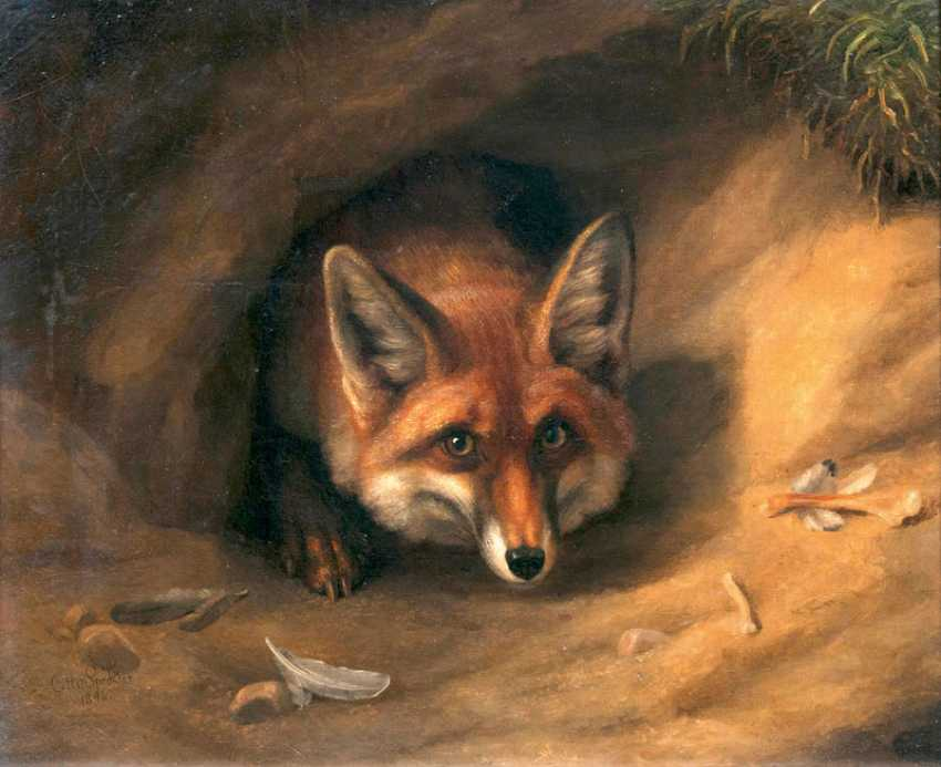 Fox in its construction. Otto Speckter - photo 1