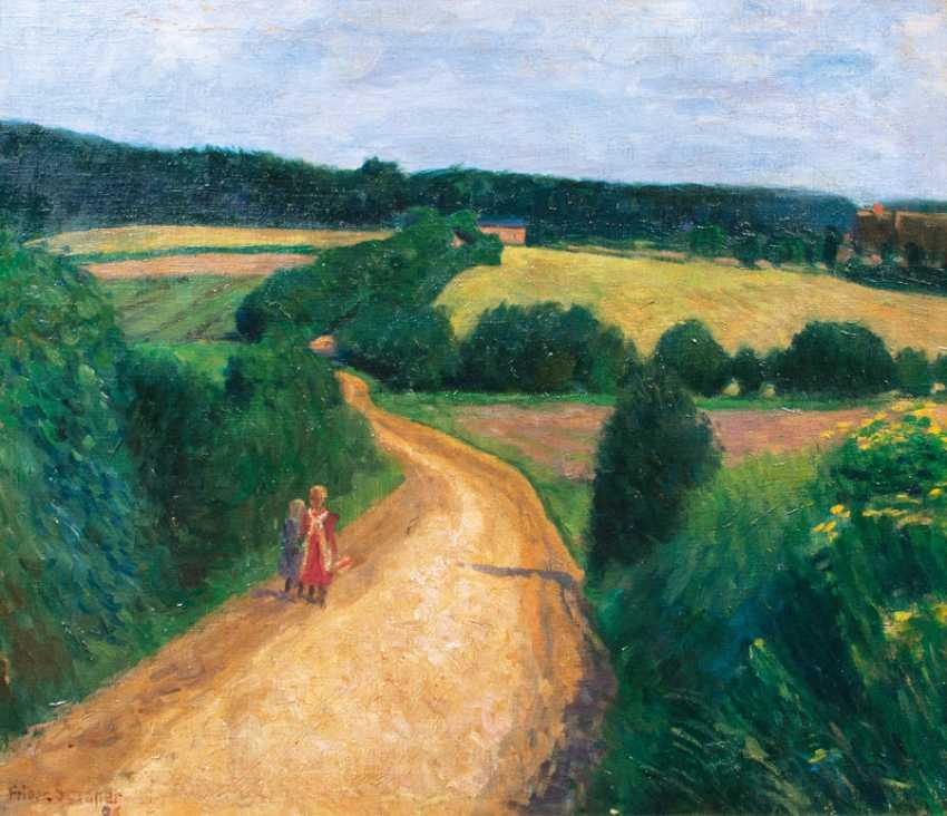 Way through the fields. Friedrich Schaper - photo 1