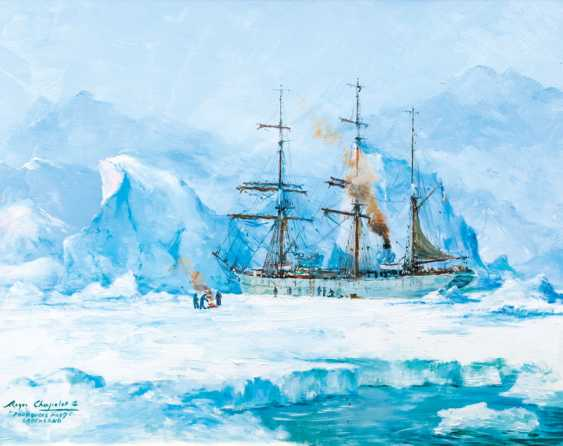 The Pourquois-Pas in Greenland. Roger Chapelet - photo 1