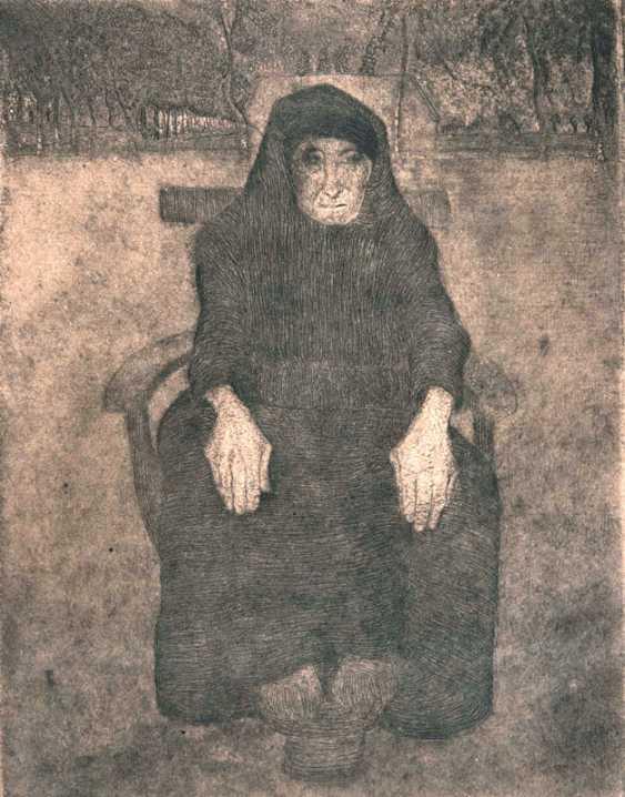 Seat Old. Paula Modersohn-Becker - photo 1