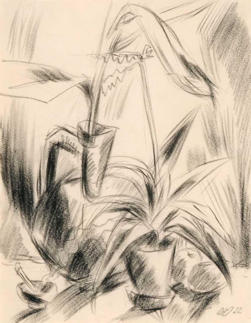 Still-life with plants. Dorothea Maetzel-Johannsen - photo 1
