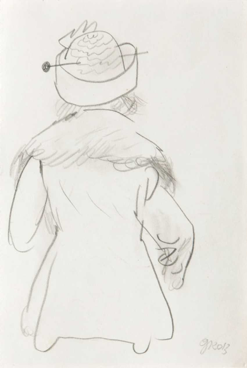 Woman with a hat. George Grosz - photo 1