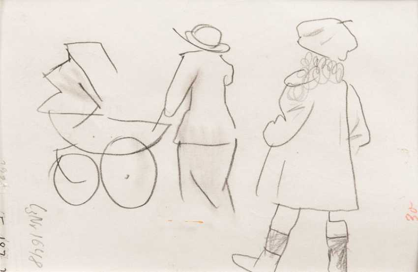 Woman with a hat. George Grosz - photo 2