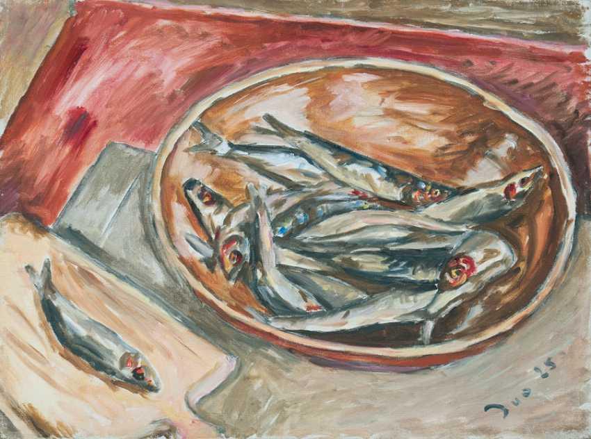 Still life with sardines. Ivo Hauptmann - photo 1