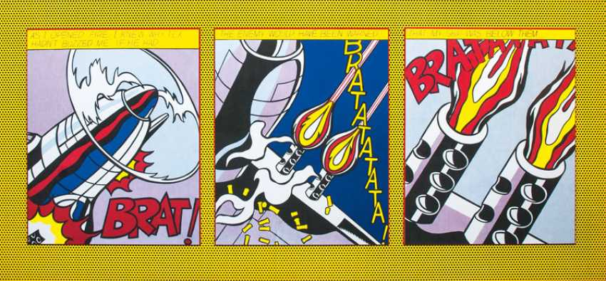 As I opened Fire. Roy Lichtenstein - photo 1