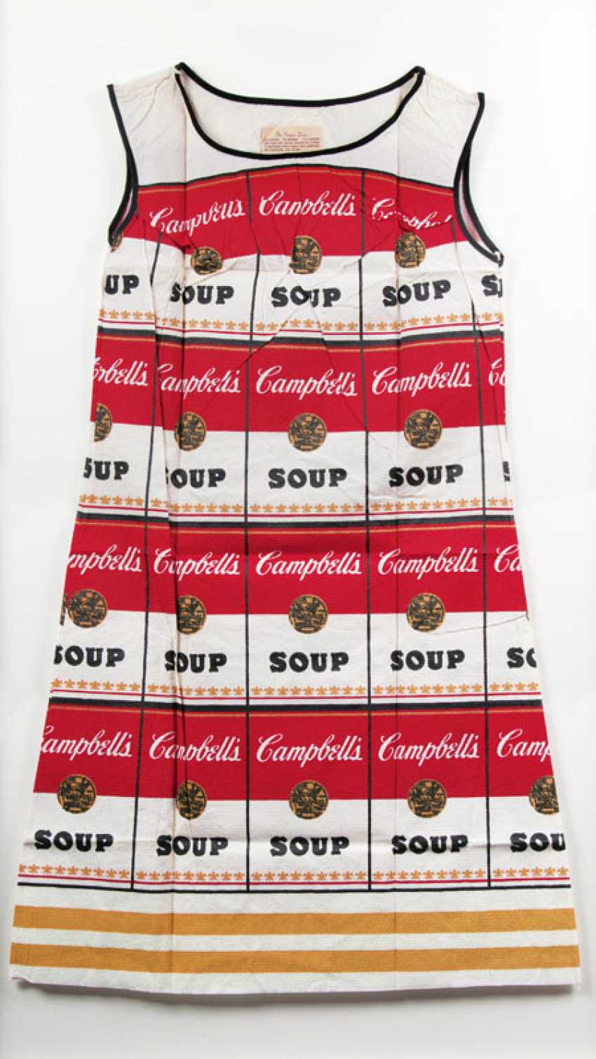 Campbell's Souper Dress. Andy Warhol - photo 1