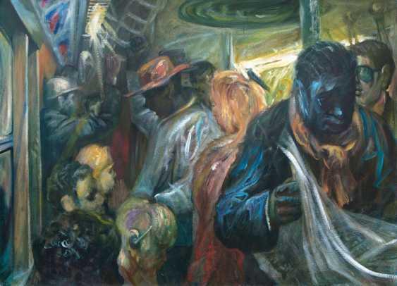 In der U-Bahn, New York. Johannes Duwe - photo 1