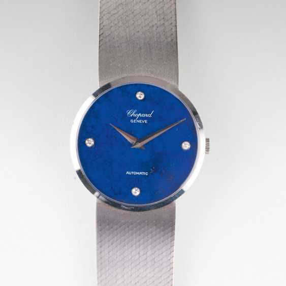 Mens bracelet watch with lapis lazuli dial. Chopard - photo 1