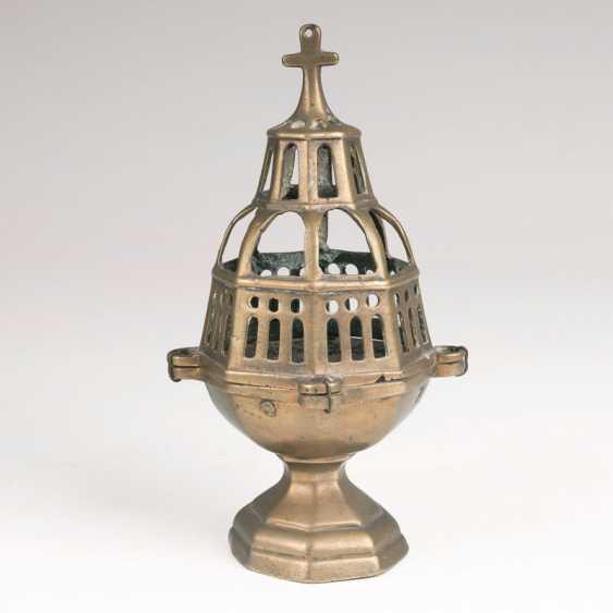 Early Baroque Brass Censer. - photo 1