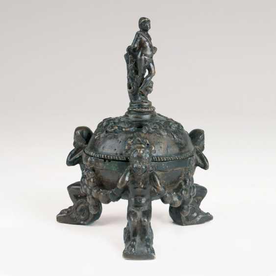 Renaissance Bronze-Tintenfass. - photo 1