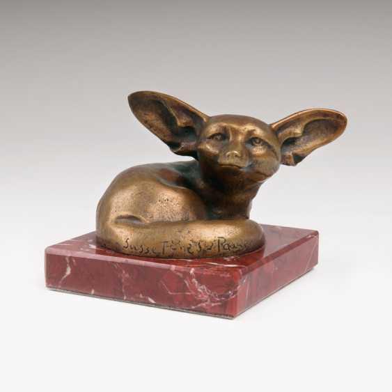 Small Animal Bronzes The The Desert Fox'. Édouard Marcel Sandoz - photo 1