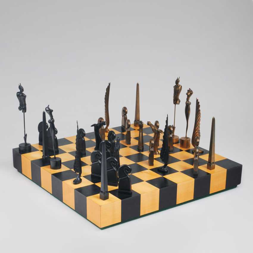Jeu d'échecs. Paul Wunderlich - photo 1