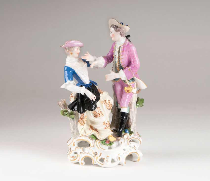 Porcelain Figure Group, 'Gallant Few'. - photo 1