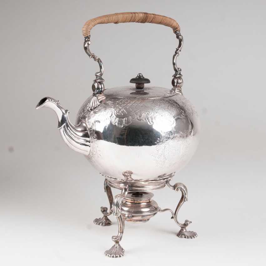 Georgian tea kettle on a chafing dish. Richard Zouch - photo 1