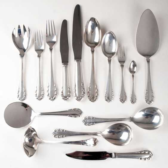 Rare Menu Cutlery Set 'Lily Of The Valley', No. 101. Georg Jensen - photo 1