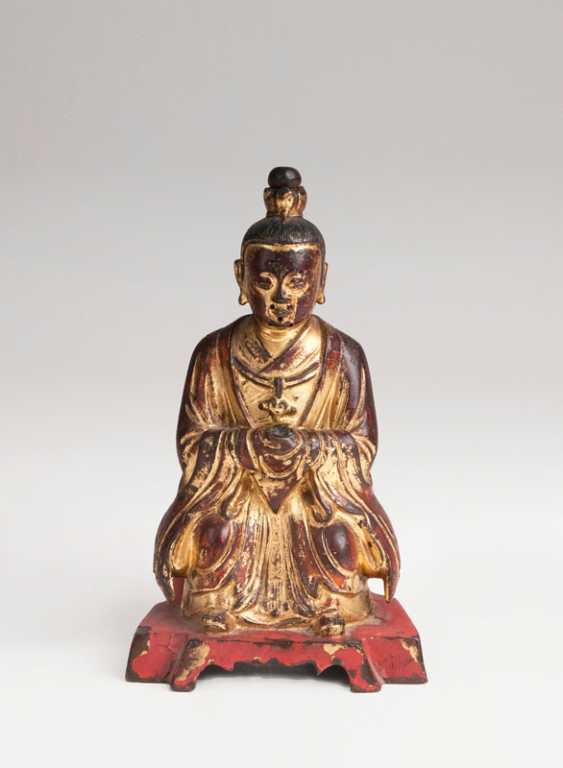 Bronze Sculpture 'Taoist Ancestor Figure'. - photo 1